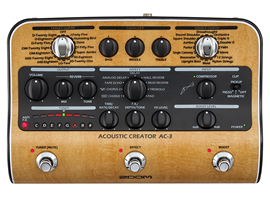 ZOOM AC-3 Acoustic creator dibox