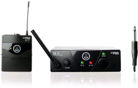 AKG WMS40 Mini Instrumental Set ISM2 Wireless In...