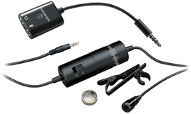 Audio-Technica ATR3350iS kondenzatorski lavalier...