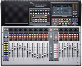 PreSonus StudioLive 32 SX | 32-channel digital m...