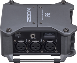 Zoom F6 | Rugged Field Recorder