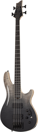 Schecter SLS Elite-4 | Black Fade Burst #1391