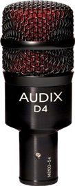Audix D4 Dynamic Instrument Mic