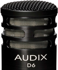 Audix D6 Dynamic Instrument Mic