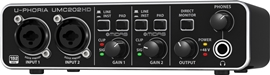 Behringer UMC202HD U-Phoria Audio Interface
