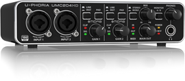 Behringer UMC204HD U-Phoria audio inter...