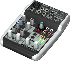 Behringer Xenyx Q502USB Mixing Console