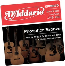 D'Addario EPBB170 PB Soft Acoustic Bass String S...