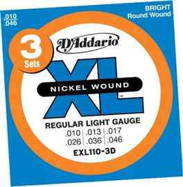 D Addario EXL110 Regular Light