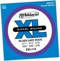 D'Addario EXL115 Set Blues/Jazz Rock 11-49