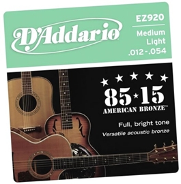 D Addario EZ920 - Medium Light žice za akustičnu...