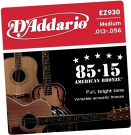 D'Addario EZ930 85/15 Bronze Medium 13-56