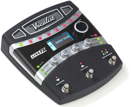 DigiTech Vocalist Live FX Vocal Effect Processor