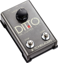 TC-Helicon Ditto Mic Looper pedala