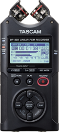 Tascam DR-40X | Four Track Digital Audio Recorde...