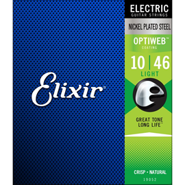 ELIXIR 19052 10-46 OPTIWEB LIGHT ELECTRIC STRINGS