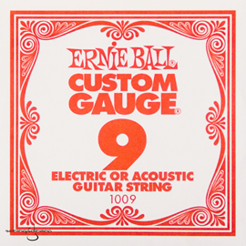 Ernie Ball 1009 Plain Steel Single Stri...