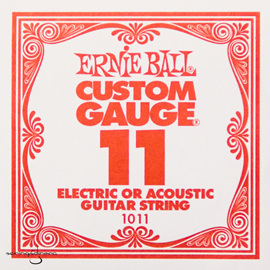 Ernie Ball 1011 Plain Steel Single Stri...