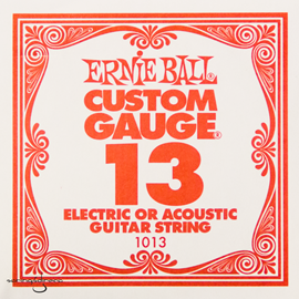 Ernie Ball 1013 Plain Steel Single String .013 p...