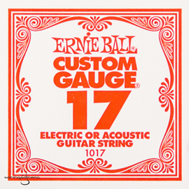 Ernie Ball 1017 Plain Steel Single Stri...