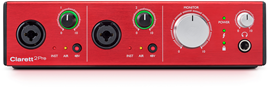 Focusrite Clarett 2Pre audio interfejs