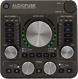 Arturia AudioFuse - Space Grey audio interfejs