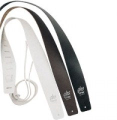 GHS A10 Leather Guitar Strap Black