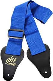 GHS A8 Nylon Web Guitar Strap Blue