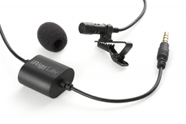 IK Multimedia iRig Mic Lav Lavalier Mic for Mobi...