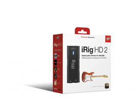 IK Multimedia iRIG HD-2 | Audio Interface For Ap...