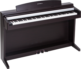 Kurzweil M1 Satin Rosewood Digital Home Piano