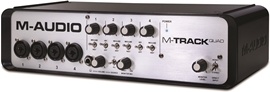 M-Audio M-Track Quad + Pro Tools 10 Exp...