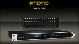 Midas M32C + D32  |  Bundle