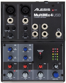 Alesis MultiMix 4 USB Mixing Console