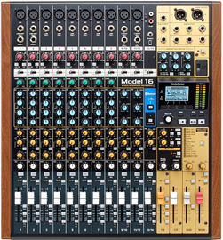 Tascam Model 16 | All-In-One Mixing Studio Mixer