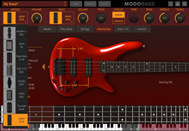 IK Multimedia Modo Bass / Virtual Bass Guitar