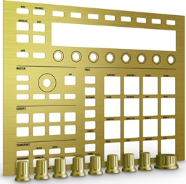 Native Instruments Maschine Custom Kit (Solid Gold)