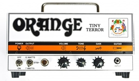 Orange TT15 Tiny Terror Head