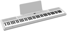 Artesia PE-88 White stage piano