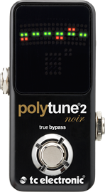 TC Electronic PolyTune 2 Noir Polyphonic Tuner