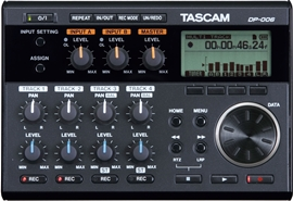 Tascam DP-006 Mobile Multi-channel Recorder