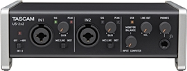 Tascam US-2x2 audio interfejs