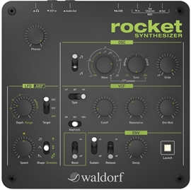 Waldorf Rocket Desktop Analog Synth