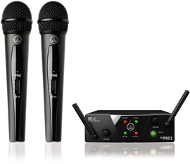 AKG WMS40 Mini2 Vocal Set Dual US45A/C-SMPS Dual...