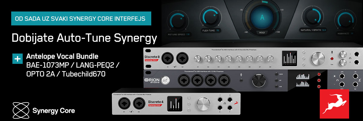 Antelope Audio Synergy Core Promo