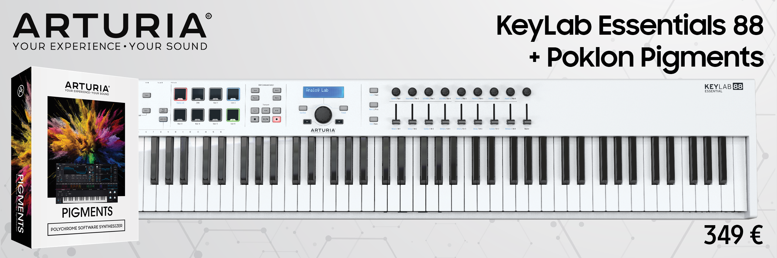 Arturia Keylab Essentials 88 + Pigments