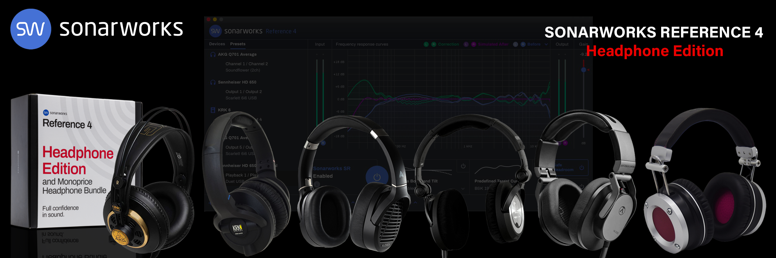 REference 4 Headphone Bundles