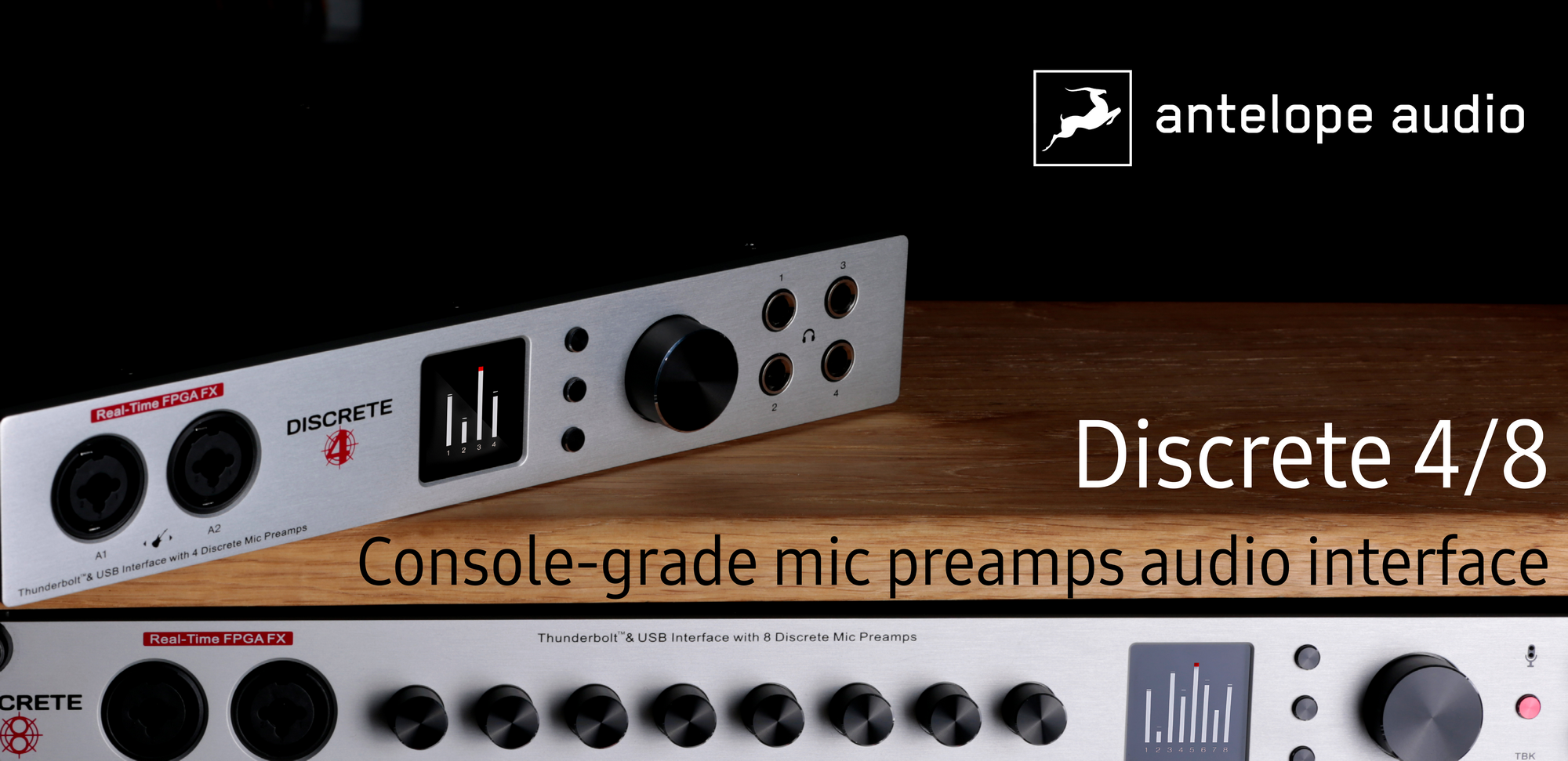 Antelope Audio Discrete Interfaces