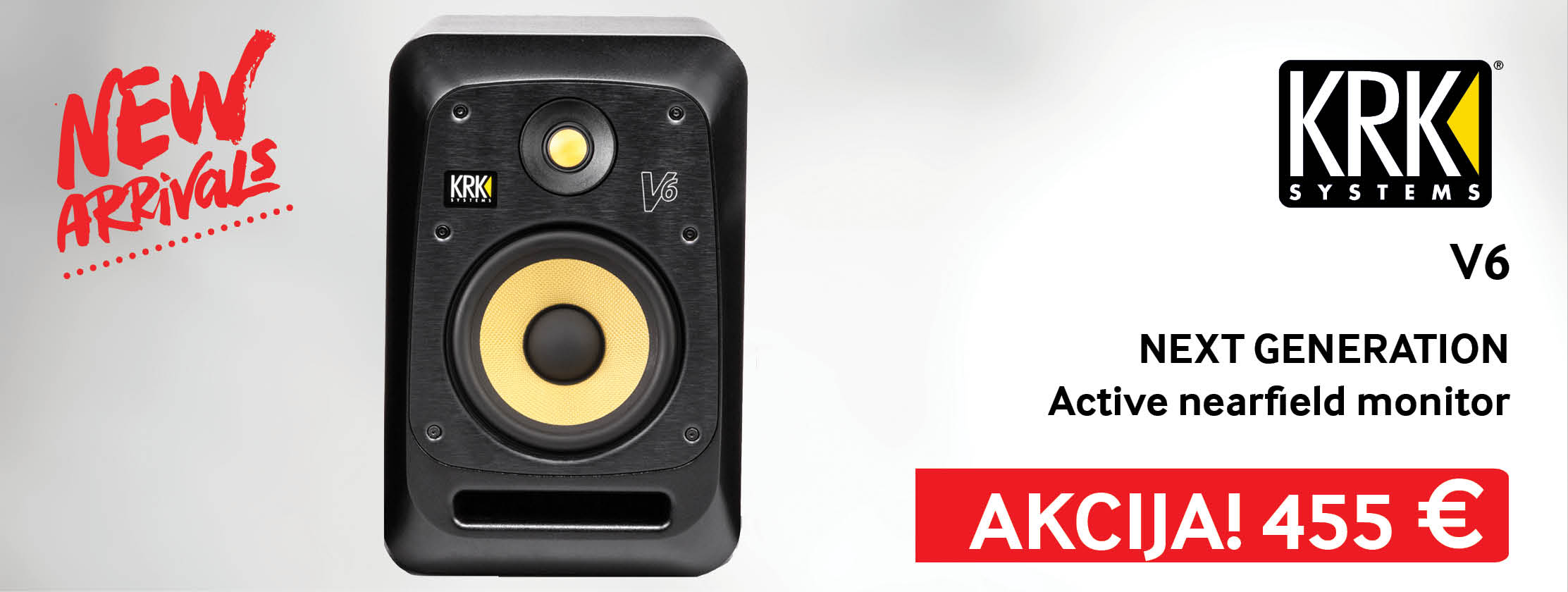 KRK Systems V6 Active nearfield monitor