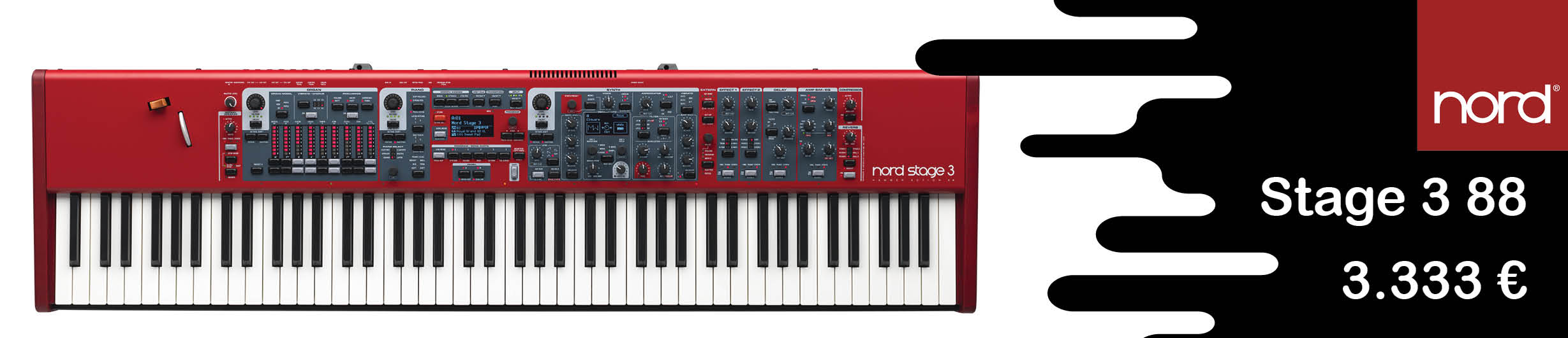 Nord Stage 3 88 Synth